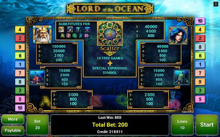 Lord of the Ocean™ Slot 1.1 screenshot 1095694