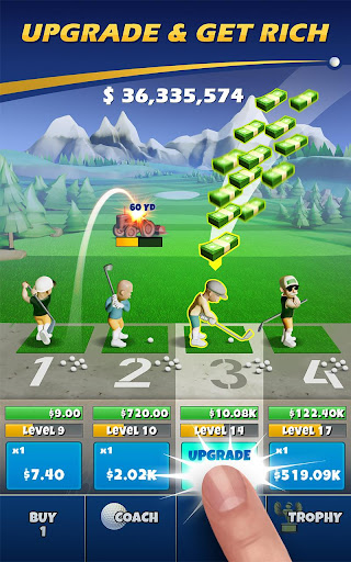 Screenshot for Idle Golf ️ in United States Play Store