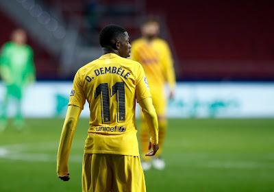 📷 Ousmane Dembélé reçoit le brassard et ... le met à l'envers