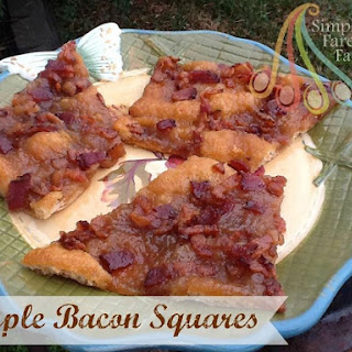 Maple Bacon Squares