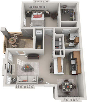 Go to Edelweiss Renovated Floorplan page.