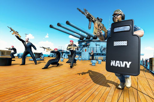 Navy Gun Strike - FPS Counter Terrorist Shooting apkpoly screenshots 5