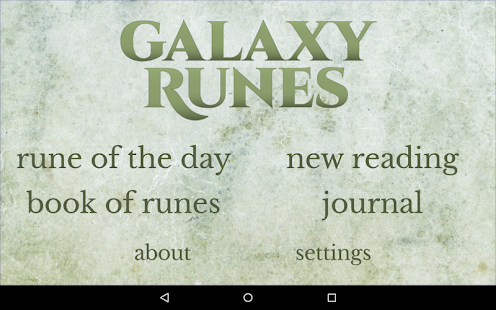 Galaxy Runes- screenshot thumbnail
