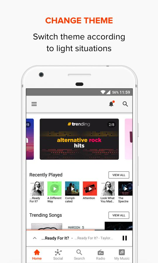 Gaana Music Premium (Ad Free Mod) Bollywood Songs latest Version 7.8.9.1 1