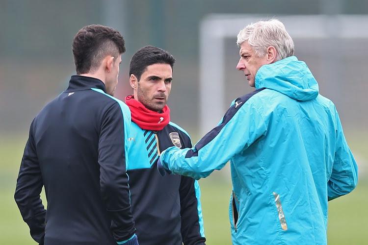 """Arsenal : Arsène Wenger valide le choix Arteta : """"Il a un grand avenir"""""""