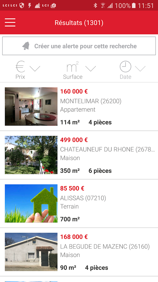 LE COMPTOIR DE L' IMMOBILIER- screenshot