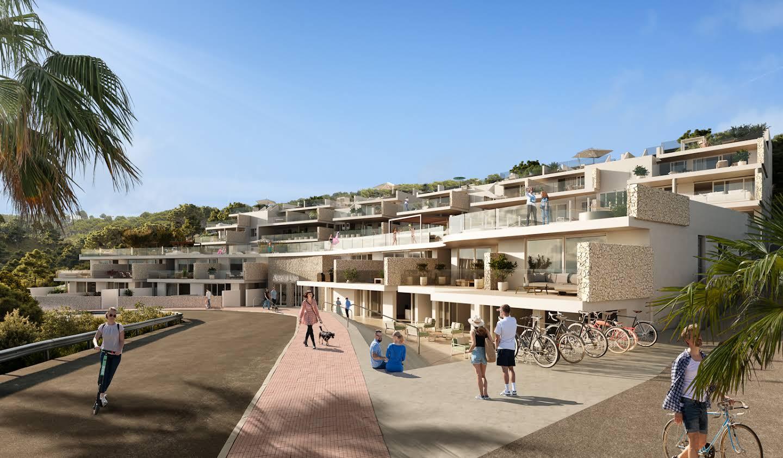 Appartement avec terrasse et piscine Arenal d'en Castell