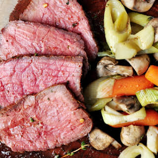 One-Pan Oven Roast with Vegetables.