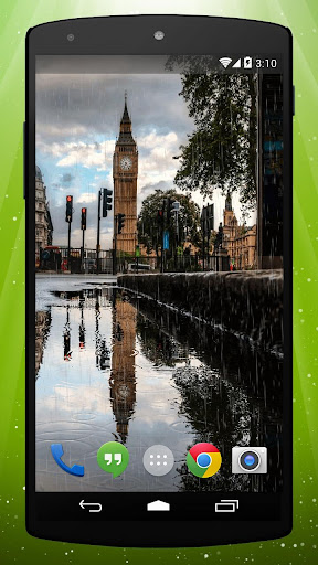 London Rain Live Wallpaper