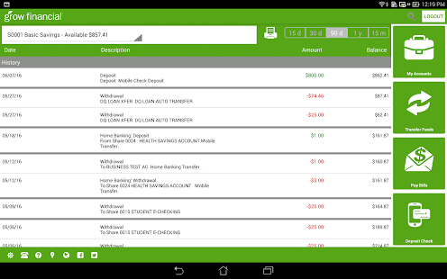 Grow Mobile Banking - Apps on Google Play