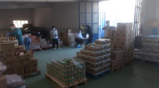La Soledad reparte 10 toneladas de comida junto al Banco de Alimentos