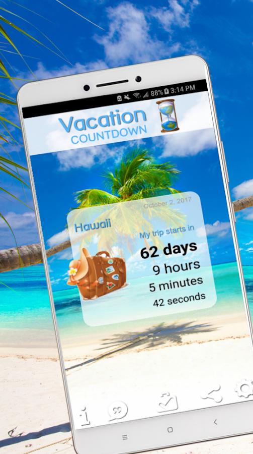Ben noto Vacation Countdown App - App Android su Google Play AI52