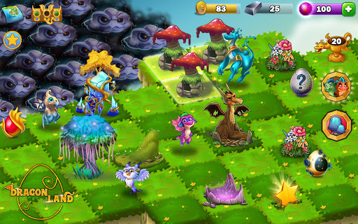 Dragon Land - Free Merge and Match Puzzle Game 0.36 screenshots 18