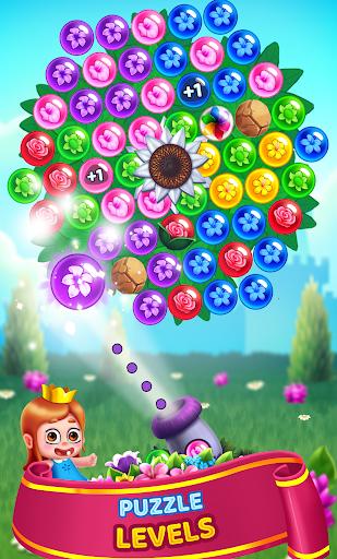 Flower Games - Bubble Shooter 3.7 screenshots 4