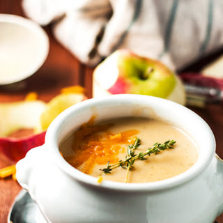 Apple Cheddar Soup