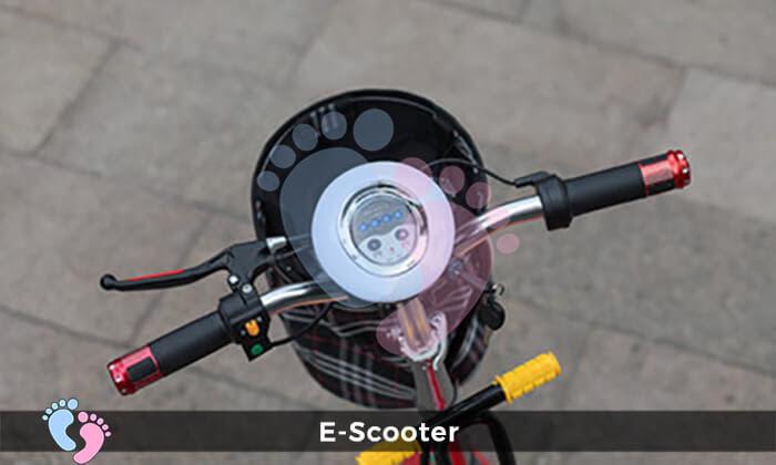 Xe điện E-Scooter mini gấp gọn 17