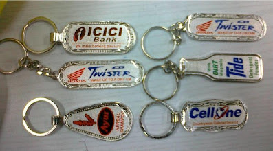 Photo: Laminated Stamping Keychains with Printing-2