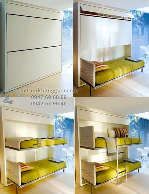 thiết kế nội thất thông minh hiện đại