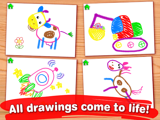 Drawing for Kids Learning Games for Toddlers age 3  8