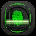 Biometric Lock screen Prank icon
