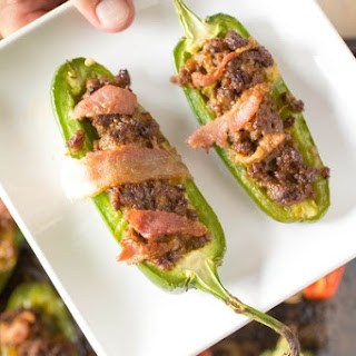 Bacon Cheeseburger Jalapeno Poppers