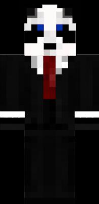 Panda in a suit  m life