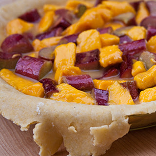 How to Make Mango Rhubarb Pie with Cornmeal Crust