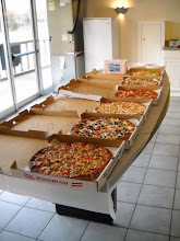 Photo: Paradise Bay supplied the pizza for the event.