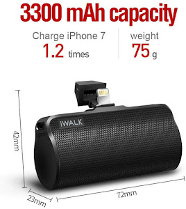 Baterie externa 3300 mAh Power Bank pentru iPhone, iPod