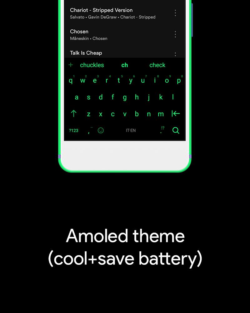 Hydrogen Keyboard Chrooma- Slim, Cyanogen, Lineage Screenshot 5