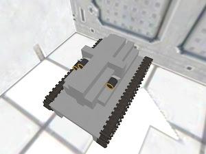 400mm gatling cart
