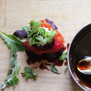 Beet, Tomato & Burrata Stacked Salad