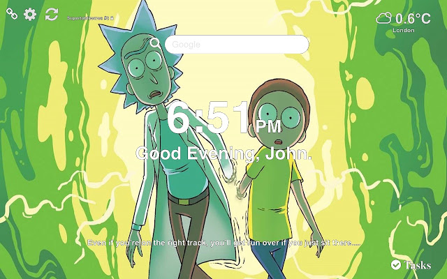 Rick and Morty Wallpapers New Tab 2019