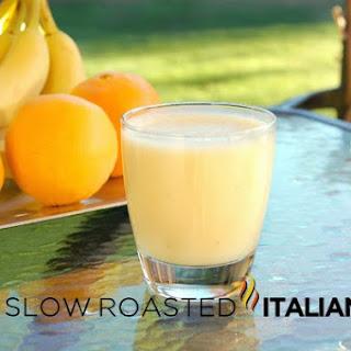 Banana Orange Smoothie Recipe