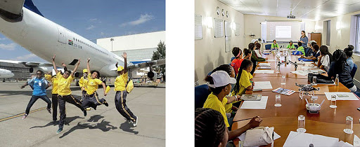 The Girls Fly Programme in Africa has developed educational, networking and scholarship programmes for young girls.