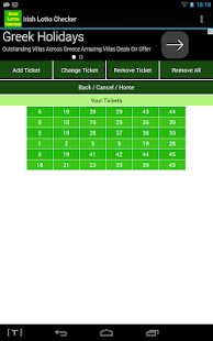 Irish Lotto Checker- screenshot thumbnail