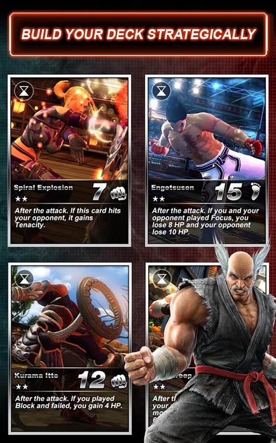 Tekken Card Tournament (CCG) - screenshot