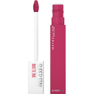 Labial Maybelline Superstay matte Ink Larga Duración Pink pathfinder 5ML