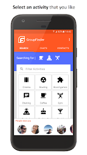GroupFinder - Make new friends- screenshot thumbnail