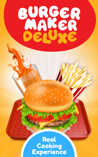 Burger Deluxe - Cooking Games apkpoly screenshots 7