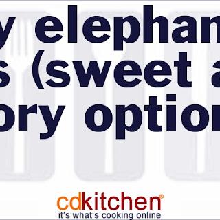 Easy Elephant Ears (Sweet And Savory Options)