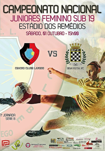Campeonato Nacional Juniores Feminino - Estádio dos Remédios - 1 de outubro
