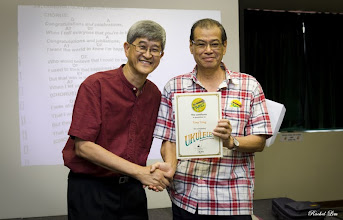 Photo: Congratulations Bro Tony Yong