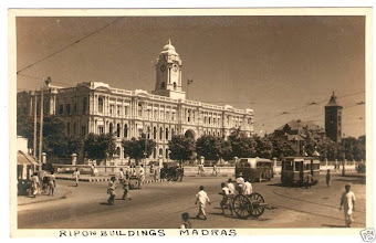 Photo: Ripon Buildings - Corporation of Madras.