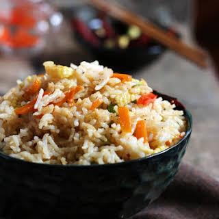 Singapore Fried Rice Recipe (veg).