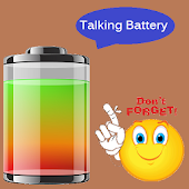 Real Talking Battery Widget