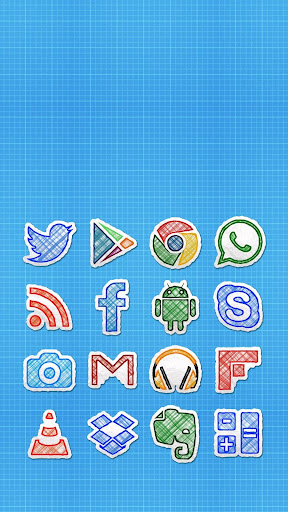 Doodle Draw Icon Pack