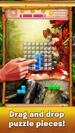 Download Beautiful Block Puzzle - Relaxing Fairy Tail Game