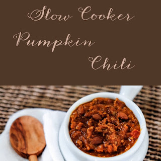 Creamy & Hearty Slow Cooker Pumpkin Chili