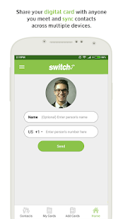 Switchit Digital Business Card - náhled